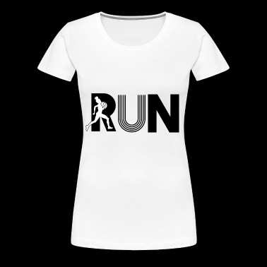 Run Run - Frauen Premium T-Shirt