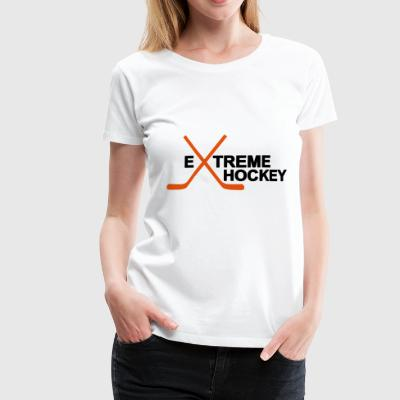 2541614 12661153 hockey - Premium T-skjorte for kvinner