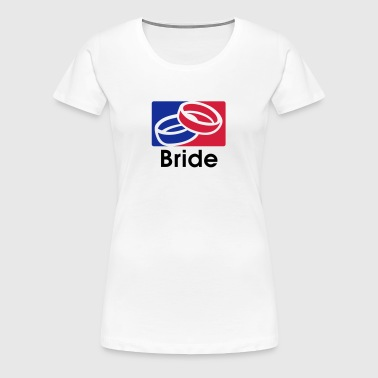 Bride 3C Team - Dame premium T-shirt