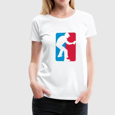 Premier Ligue Graffiti - Frauen Premium T-Shirt