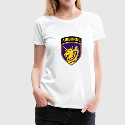 USA 13th Airborne Division - Frauen Premium T-Shirt