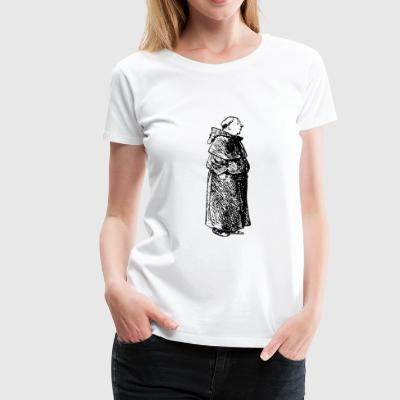 Mönch - Frauen Premium T-Shirt