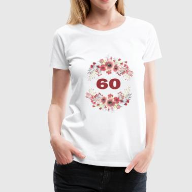 60th birthday - Women's Premium T-Shirt