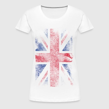 union jack - used look - Vrouwen Premium T-shirt