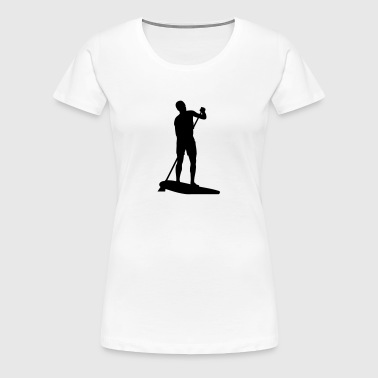 Stand Up Paddling - Women's Premium T-Shirt