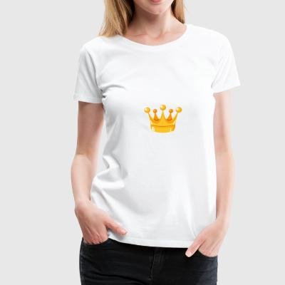 Royal Crown - Vrouwen Premium T-shirt