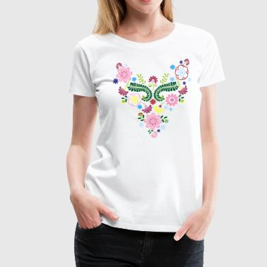 BOHO FLOWER - Women's Premium T-Shirt