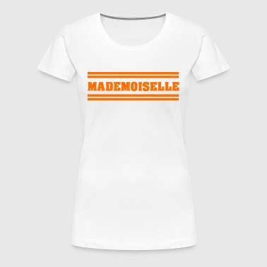 STYLISH COOL CANDY MADEMOISELLE FRAZO GIFT - Women's Premium T-Shirt