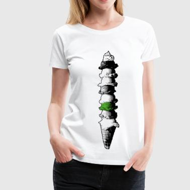 Ultimate Ice (Ice Cream) - Premium-T-shirt dam
