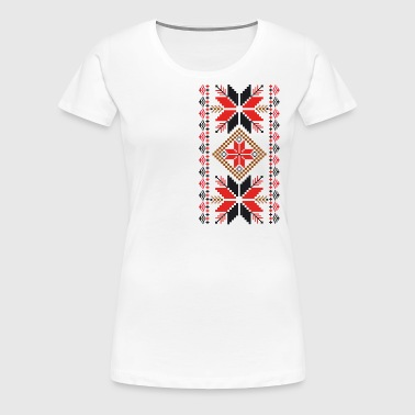 folk ornament - Vrouwen Premium T-shirt