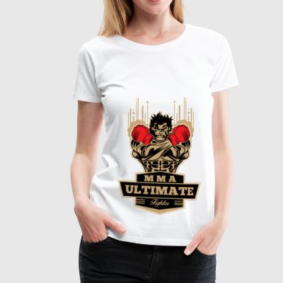 Ultimate MMA Fighter T-shirt - Vrouwen Premium T-shirt
