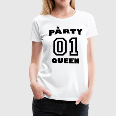 Vier dancing - Party Queen - Vrouwen Premium T-shirt