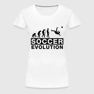 fussball_evolution_2___f1 - Women's Premium T-Shirt