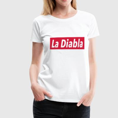 La Diabla - Latin Dance Fashion - Vrouwen Premium T-shirt