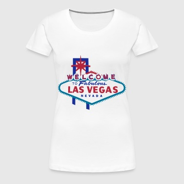 welcome to las vegas - Premium T-skjorte for kvinner