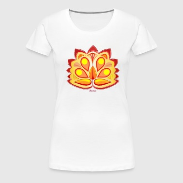 Tropic flower - Frauen Premium T-Shirt