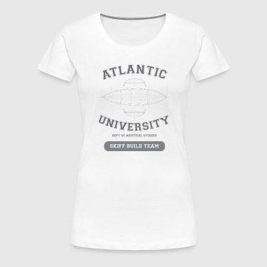 Atlantic Skiff Builders - Women's Premium T-Shirt