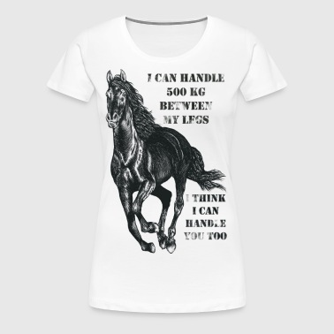 I Think I Can Handle You - Premium-T-shirt dam