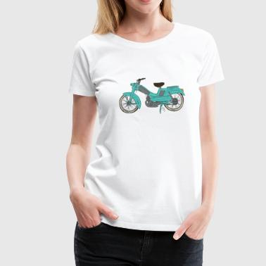 Miss Ady_mobylette - T-shirt Premium Femme