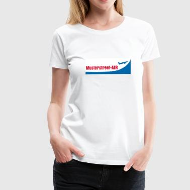 Airline - Frauen Premium T-Shirt