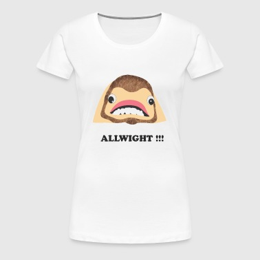 jpeg_chin_allwight - Women's Premium T-Shirt