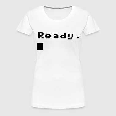 C 64 Ready - Frauen Premium T-Shirt