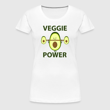 Veggie Power - Dame premium T-shirt