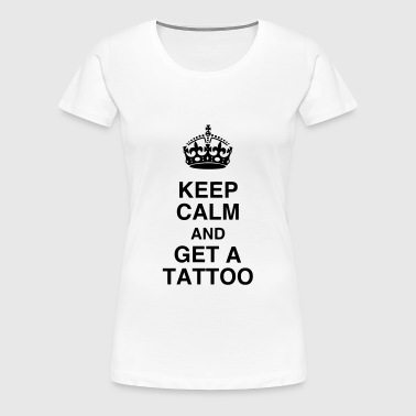 Tatoo / Tattooed / Tattooist / Biker / Piercing - Women's Premium T-Shirt