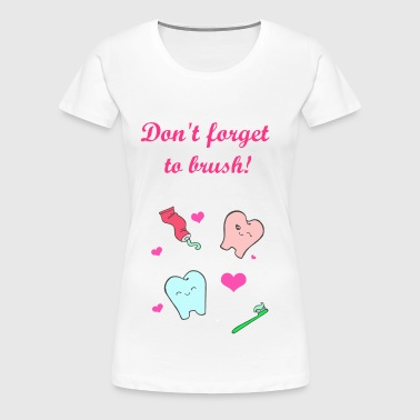 happy teeth - Women's Premium T-Shirt