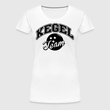 Kegel Team - Frauen Premium T-Shirt