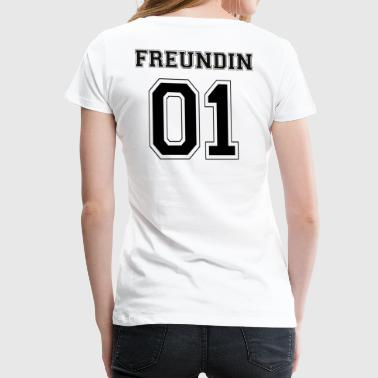 Girlfriend - Black Edition - Women's Premium T-Shirt