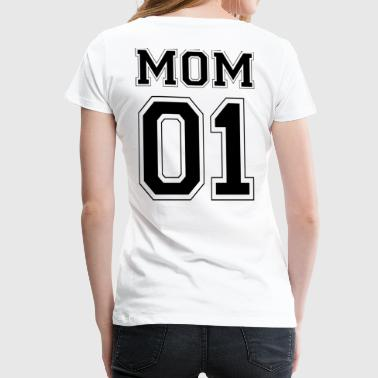 MOM 01 - Black Edition - Frauen Premium T-Shirt