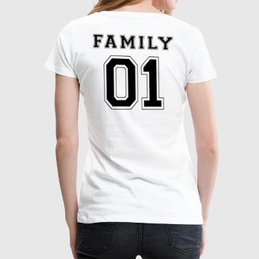 FAMILY 01 - Black Edition - Vrouwen Premium T-shirt
