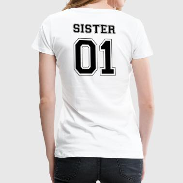 SISTER 01 - BLACK EDITION - Frauen Premium T-Shirt