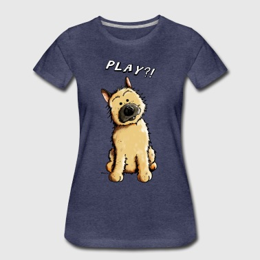 Cairn Terrier Play - Frauen Premium T-Shirt
