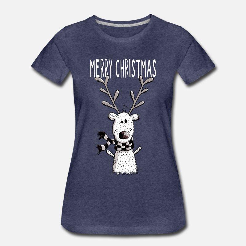 Merry Christmas Rentier - Geschenk - Weihnachten von modartis ...