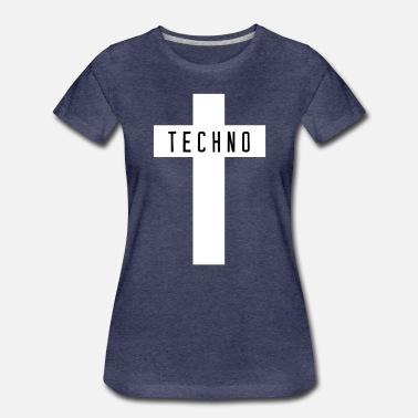 Breakcore Techno cross - Women's Premium T-Shirt
