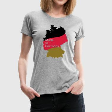 Made in Germany - Premium-T-shirt dam