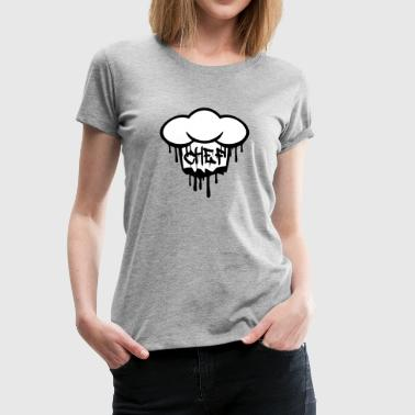 Chief graffiti chef's hat - Women's Premium T-Shirt
