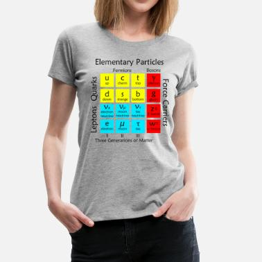 Particle Physics Elementary Particles - Women's Premium T-Shirt