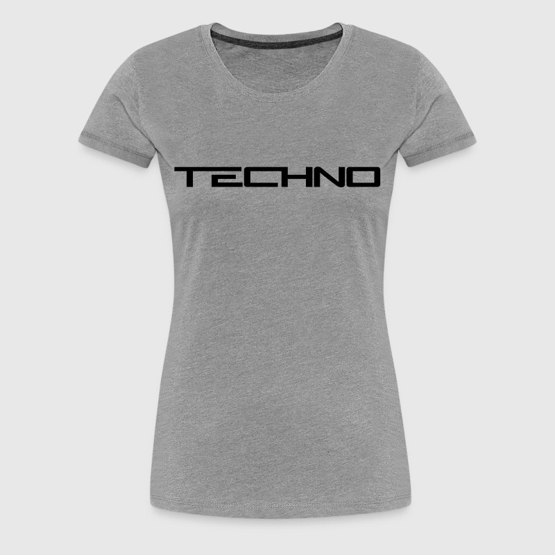 Techno Logo - Women's Premium T-Shirt
