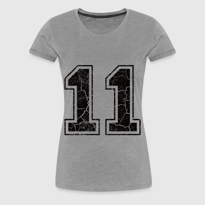 Number 11 in the used look - Women's Premium T-Shirt