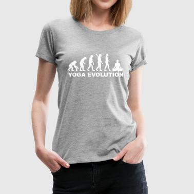 Yoga Yoga Evolution - Frauen Premium T-Shirt