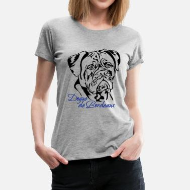 Bordeaux Dogue de Bordeaux - Dame premium T-shirt