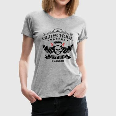 Oldschool Hot Rod Racing - Frauen Premium T-Shirt