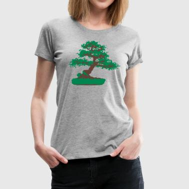 Bonsai Baum - Frauen Premium T-Shirt
