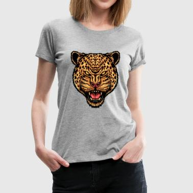 Force et concentration de la Jaguar - T-shirt Premium Femme