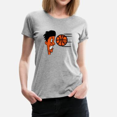 Funny Basketball Basketball sports funny cool - Women's Premium T-Shirt
