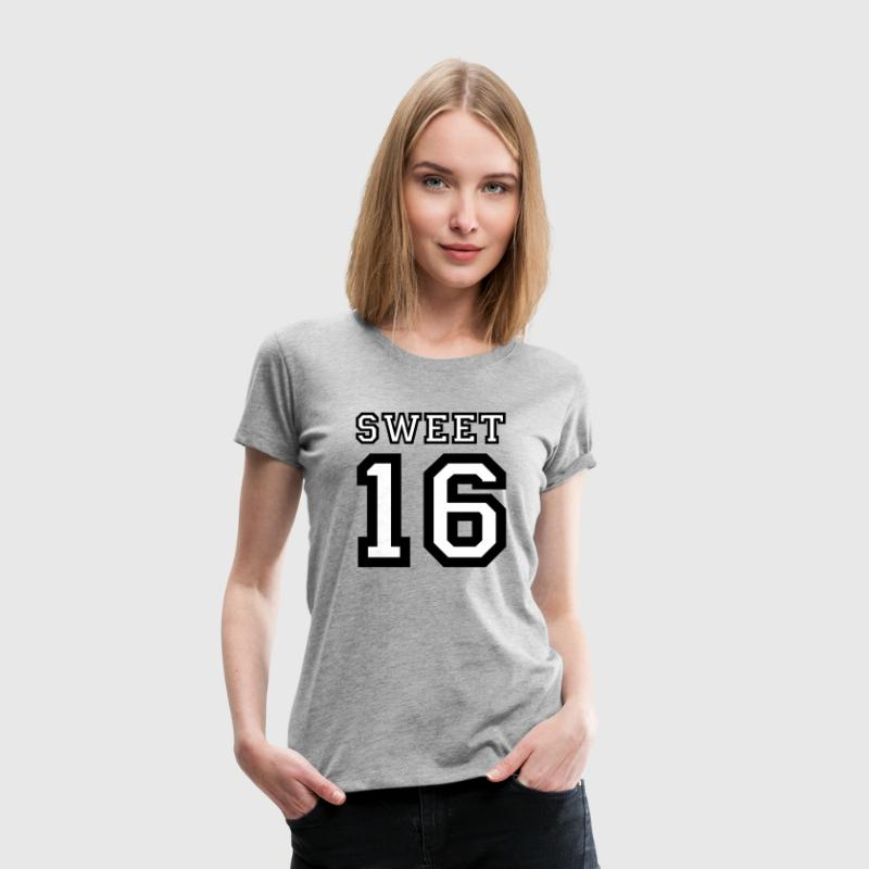 SWEET 16 - Frauen Premium T-Shirt