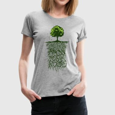 Roots - Origin - Know Your Roots - Women's Premium T-Shirt